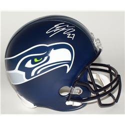 Eddie Lacy Signed Seahawks Full-Size Helmet (Lacy Hologram)