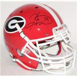 Hines Ward Signed Georgia Bulldogs Full-Size Authentic Helmet (JSA COA)