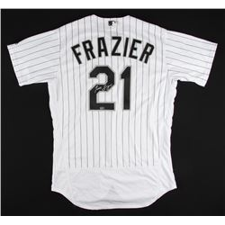 Todd Frazier Signed White Sox Majestic Jersey (MLB Hologram)
