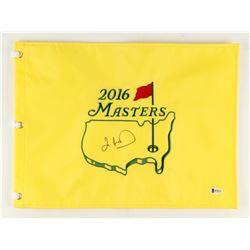 Ian Woosnam Signed 2016 Masters Golf Pin Flag (Beckett COA)