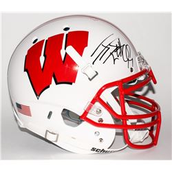 J. J. Watt Signed Wisconsin Badgers Full-Size Authentic Helmet (JSA COA)