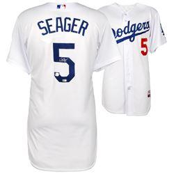Corey Seager Signed Dodgers Authentic Majestic Jersey (Fanatics Hologram  MLB Hologram)