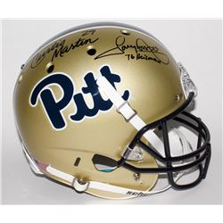 Curtis Martin  Tony Dorsett Signed Pittsburgh Panthers Full-Size Helmet (JSA COA  GTSM Hologram)