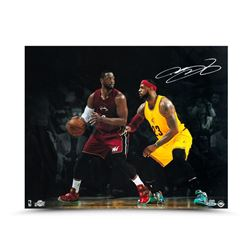 LeBron James Signed Cavaliers LE 16x20 Photo (UDA COA)