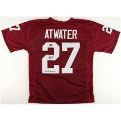 "Steve Atwater Signed Arkansas Razorbacks Jersey Inscribed ""2x All-American"" (Radtke COA)"