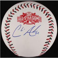 Chris Archer Signed Official 2015 All-Star Game Baseball (MLB Hologram)