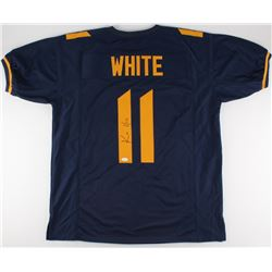 Kevin White Signed West Virginia Mountaineers Jersey (JSA COA)