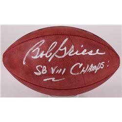"""Bob Griese Signed NFL Football Inscribed """"SB VII Champs!"""" (JSA Hologram)"""