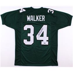 Herschel Walker Signed Eagles Jersey (Radtke COA)