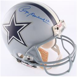Roger Staubach Signed Cowboys Full-Size Authentic On-Field Helmet (Steiner COA)
