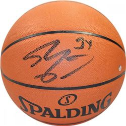 Shaquille O'Neal Signed Basketball (Steiner COA)