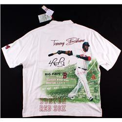 David Ortiz Signed Red Sox Commemorative Shirt (MLB Hologram)