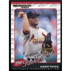 2001 Donruss Rookies #R97 Albert Pujols UPD