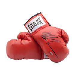 Mike Tyson Signed Pair of Everlast Boxing Gloves (UDA COA)