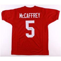 Christian McCaffrey Signed Stanford Cardinal Jersey (JSA COA)