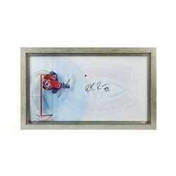 "Patrick Roy Signed Canadiens ""Great from Above"" 16.75x28.75 Custom Framed Acrylic Display (UDA COA)"