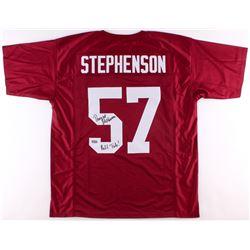 "Dwight Stephenson Signed Alabama Crimson Tide Jersey Inscribed ""Roll Tide!"" (Radtke COA)"