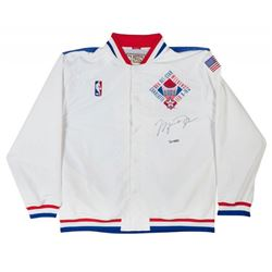 Michael Jordan Signed Limited Edition 1991 NBA All-Star Warm-Up Jacket (UDA COA)