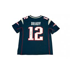 Tom Brady Signed Patriots Limited Edition Jersey with Super Bowl LI Patch (TriStar)