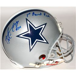 "Morris Claiborne Signed Cowboys Authentic On-Field Helmet Inscribed ""1st Round Pick"" (Radtke COA)"