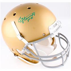 """Paul Hornung Signed Notre Dame Fighting Irish Full-Size Helmet """"56 H."""" (JSA COA)"""