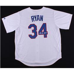 "Nolan Ryan Signed Rangers Jersey Inscribed ""H.O.F. '99"" (FSC COA  Nolan Ryan Hologram)"