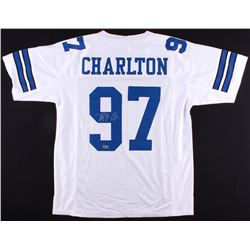 Taco Charlton Signed Cowboys Jersey (Radtke COA)