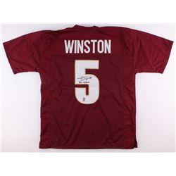 "Jameis Winston Signed Florida State Seminoles Jersey Inscribed ""2013 Heisman"" (Winston Hologram)"