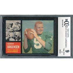 1962 Topps #115 Sonny Jurgensen (BCCG 9)