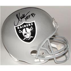 """Marcus Allen Signed Raiders Full-Size Helmet Inscribed """"HOF 03"""" (Allen Hologram)"""