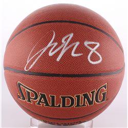 Jahlil Okafor Signed NBA Basketball (Schwartz COA)