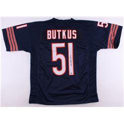 Dick Butkus Signed Bears Jersey (Schwartz COA)