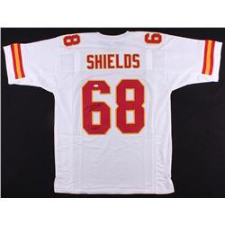 """Will Shields Signed Saints Jersey Inscribed """"HOF 15"""" (JSA COA)"""