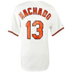 Manny Machado Signed Orioles Jersey (Fanatics Hologram  MLB Hologram)