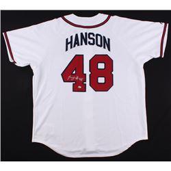 Tommy Hanson Signed Braves Jersey (Radtke COA)