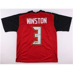 Jameis Winston Signed Buccaneers Jersey (Radtke COA  Winston Hologram)