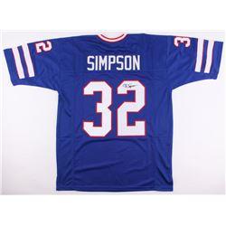 O.J. Simpson Signed Bills Jersey (JSA COA)