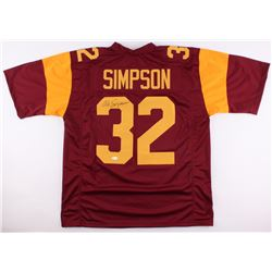 O.J. Simpson Signed USC Trojans Jersey (JSA COA)