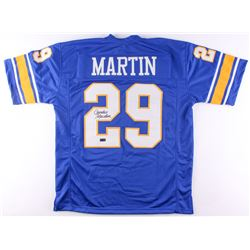 Curtis Martin Signed Pittsburgh Panthers Jersey (Radtke COA)