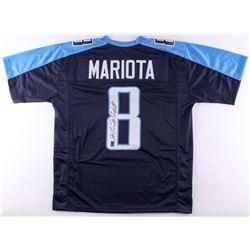 Marcus Mariota Signed Titans Jersey (Mariota Hologram)