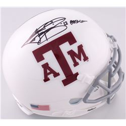 Johnny Manziel Signed Texas AM Speed Mini-Helmet Inscribed  '12 Heisman  (JSA COA)
