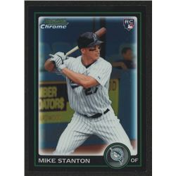 2010 Bowman Chrome Draft #BDP30 Giancarlo (Mike) Stanton RC