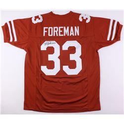 D'Onta Foreman Signed Texas Longhorns Jersey (JSA)