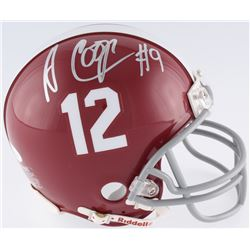 Amari Cooper Signed Alabama Crimson Tide Mini-Helmet (JSA COA)
