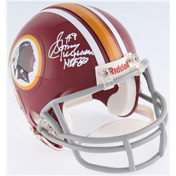 "Sonny Jurgensen Signed Redskins Mini-Helmet Inscribed ""HOF 83"" (JSA COA)"