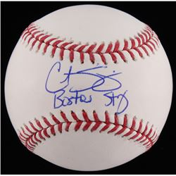"""Curt Schilling Signed OML Baseball Inscribed """"Boston Strong"""" (JSA COA)"""
