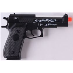 Norman Reedus  Sean Flanery Signed Full-Size Replica Airsoft Gun (Radtke COA)