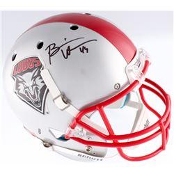 Brian Urlacher Signed New Mexico Lobos Full-Size Helmet (Radtke COA)