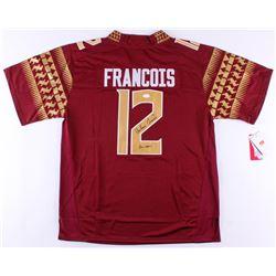 Deondre Francois Signed Florida State Seminoles Jersey Inscribed  Go noles  (JSA COA)