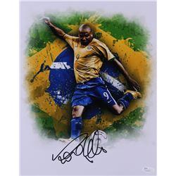 Ronaldo Signed Team Brazil 11x14 Photo (JSA COA)